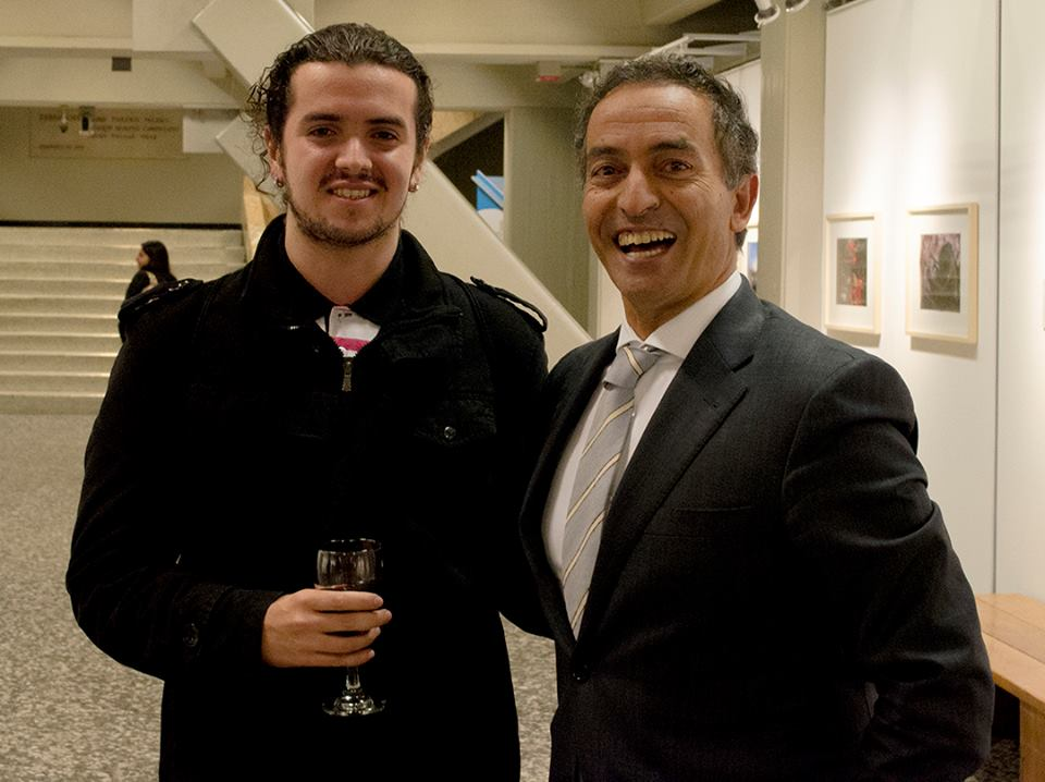 Carlos Bernate e Embaixador de Portugal